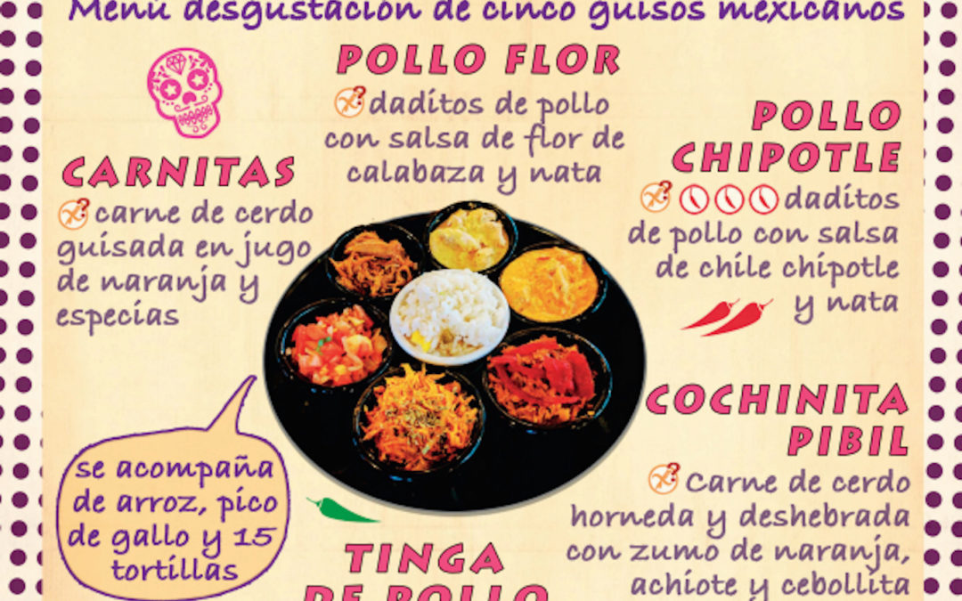 Menu de combo supertaco