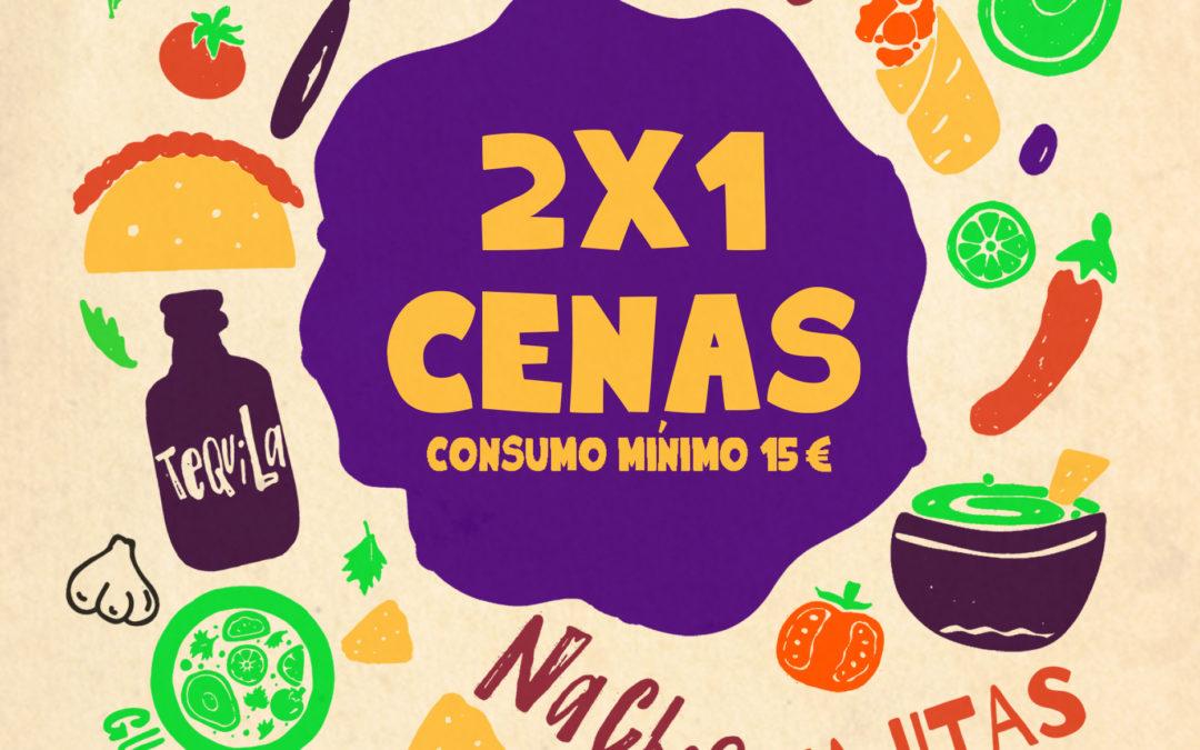 2×1 en cenas