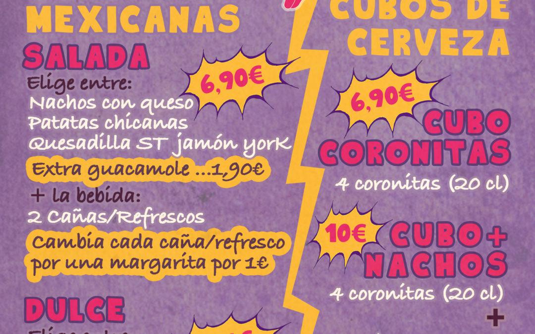 Meriendas mexicanas